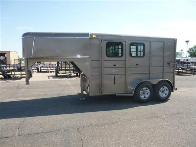 2015 Calico 2 Horse Slant Gooseneck